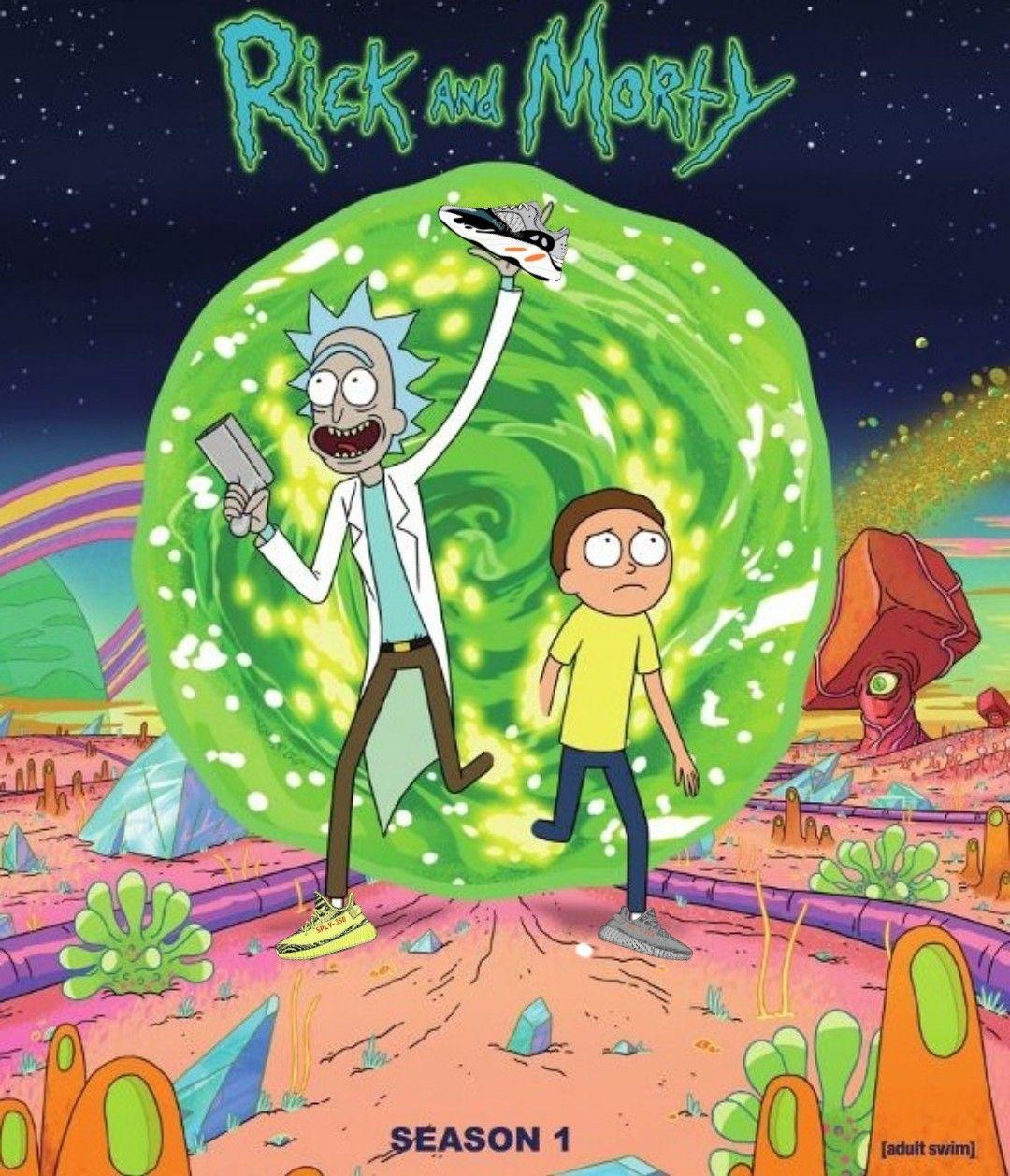 Rick And Morty Yeezy Rick Rick Y Morty Personajes De Rick Y Morty Rick Y