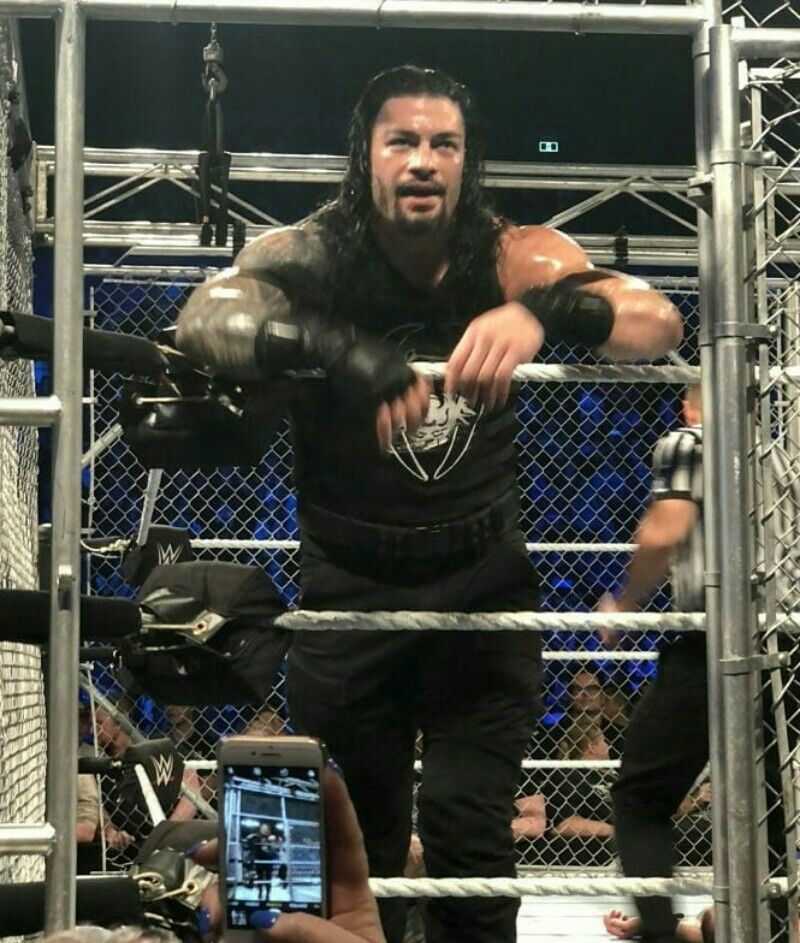 Roman Reigns on Twitter: After tearing the roof off #