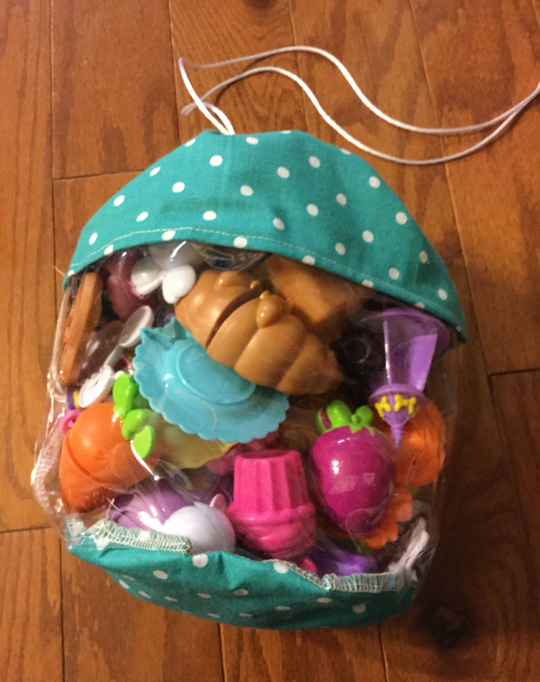 Excited To Share This Item From My Etsy Clear Plastic Toy Storage Bag