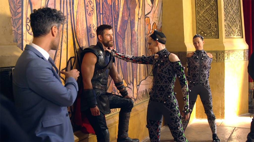 Go Behind The Scenes Of Thor Ragnarok With Cate Blanchett Heros