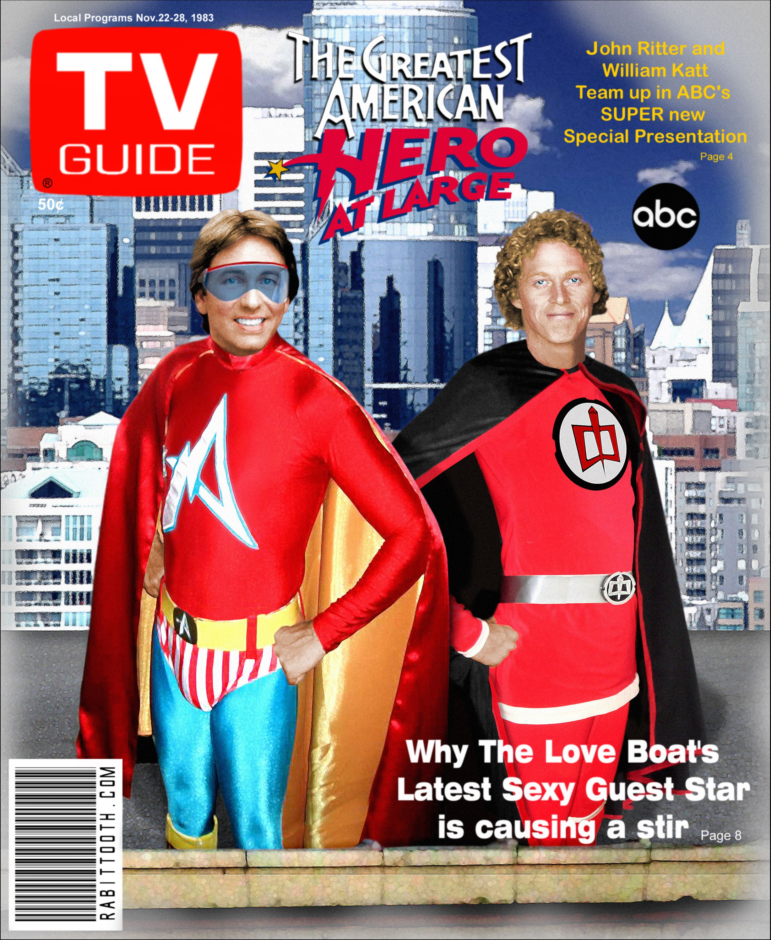 THE GREATEST AMERICAN HERO WILLIAM KATT IN SUPERHERO ... |The Greatest American Hero Poster