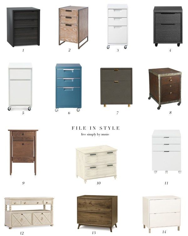 Filing Cabinet Office, Stylish File Cabinet
