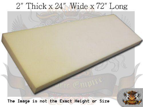 "Professional 3/""x 43/""x 75/"" Dry Fast Reticulated Foam Sheet."