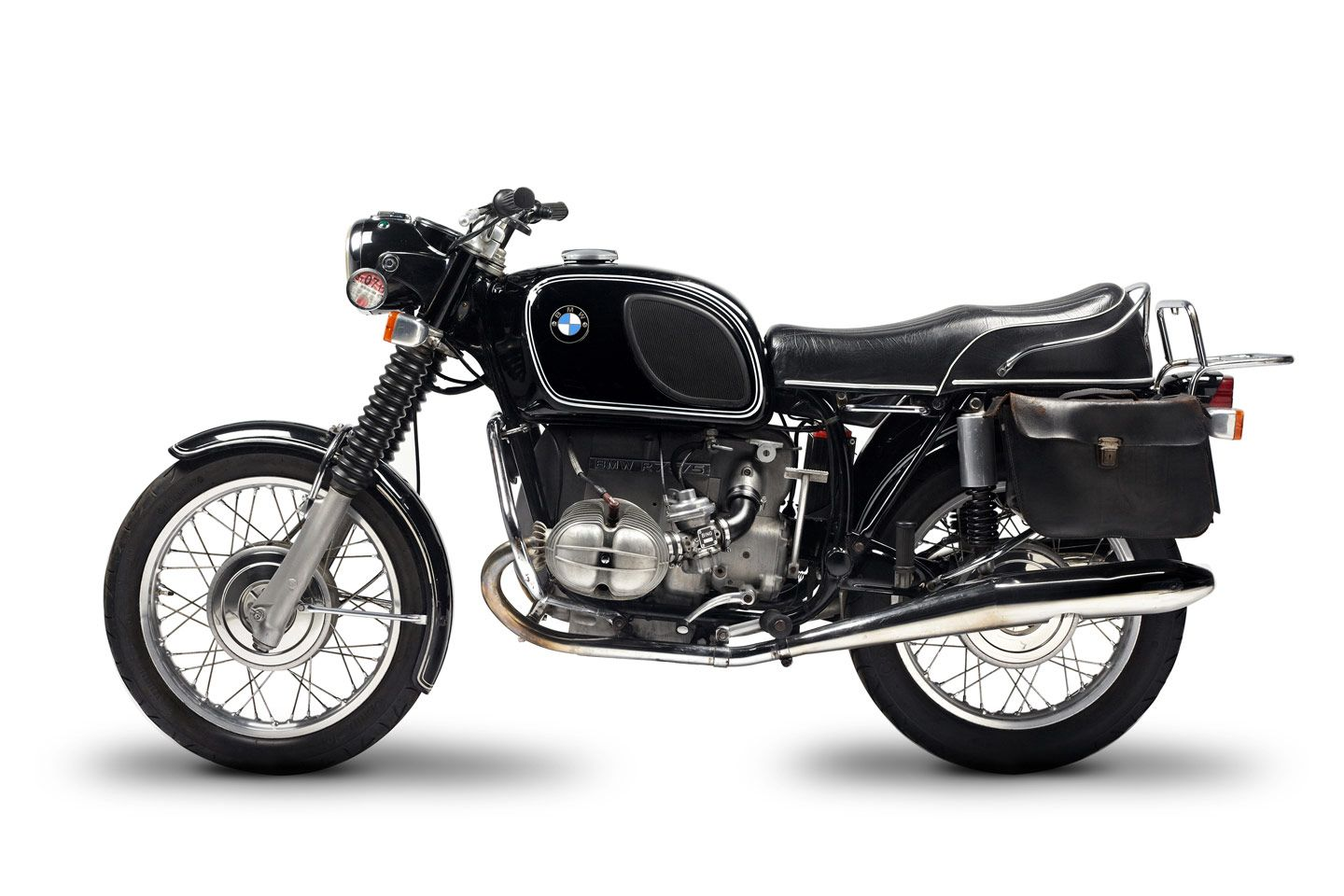 bmw // r75/5 | bags | pinterest | bmw motorcycles, the top and leather