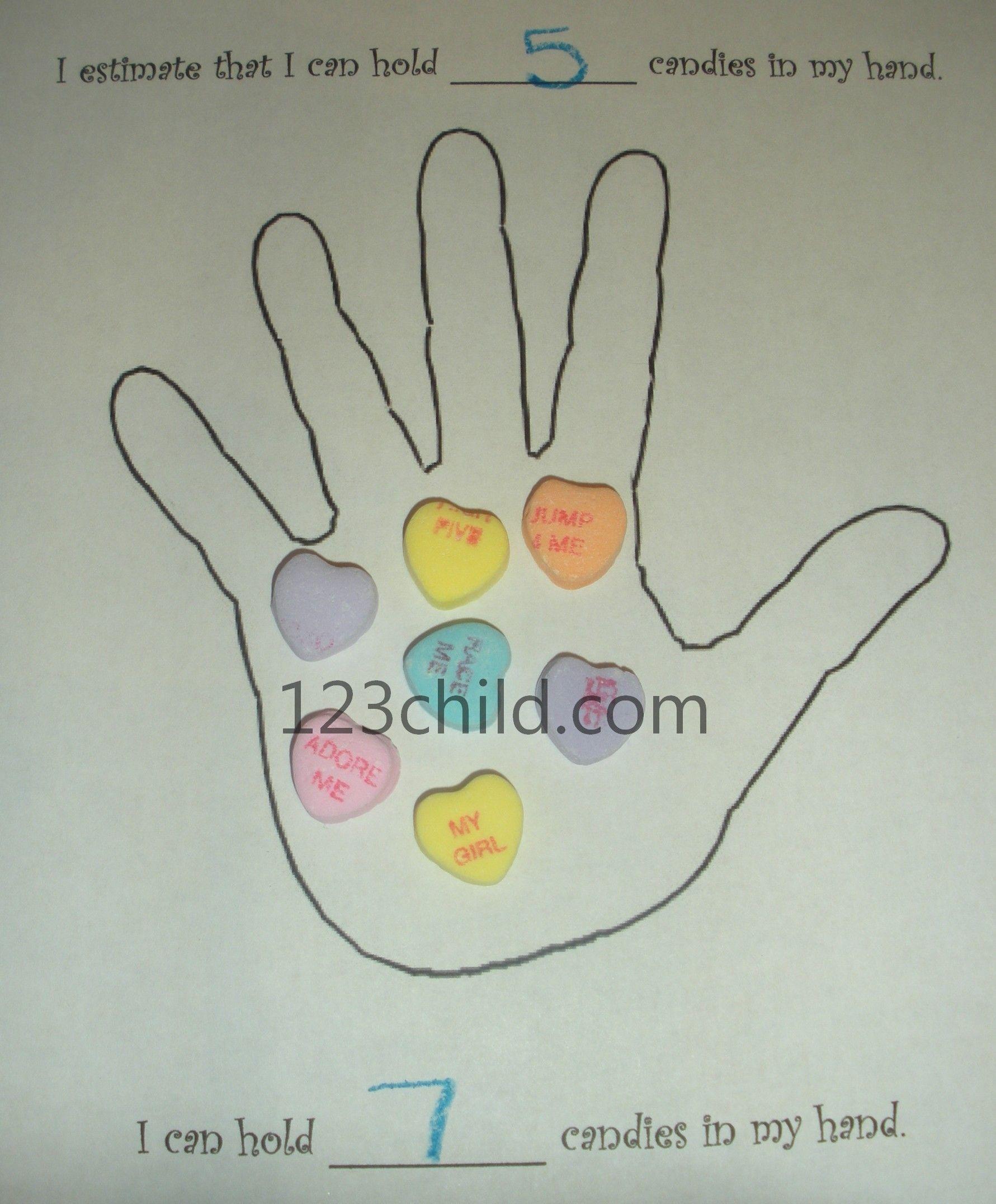 Conversation Hearts Preschool Lesson Plans