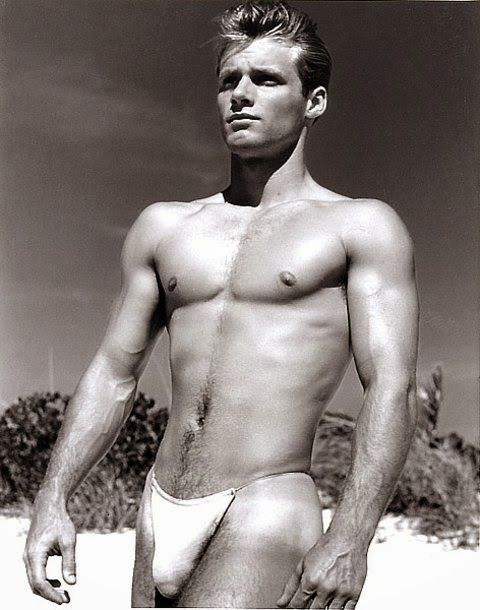Male Models Vintage Beefcake Jim Stryker Photographed by