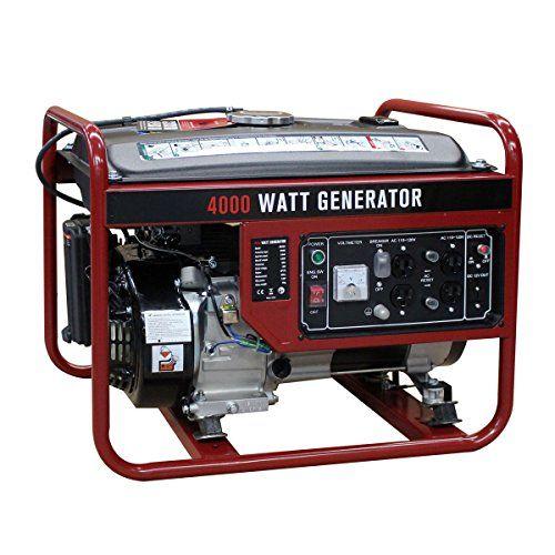 Goplus 4000 Watt Gasoline Portable Generator Gas Powered 4 Stroke 208cc Single Cylinder W Air Cooling System Epa Approved Portable Generator Generators For Sale Portable Inverter Generator