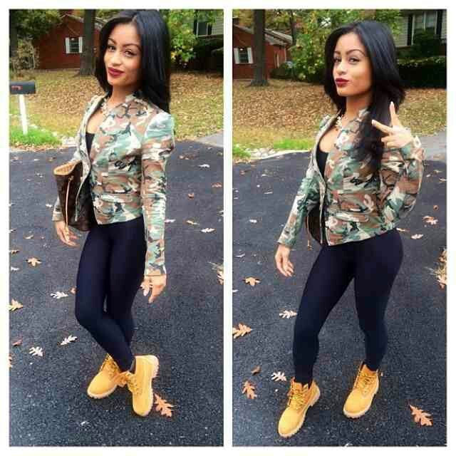 swag outfits with timberlands for girls insured fashion