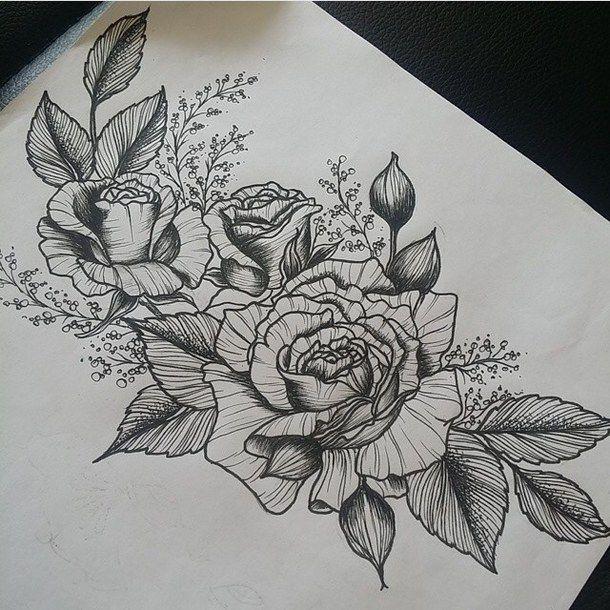 Resultado de imagen de timon vector tattoos pinterest for Cool rose drawings