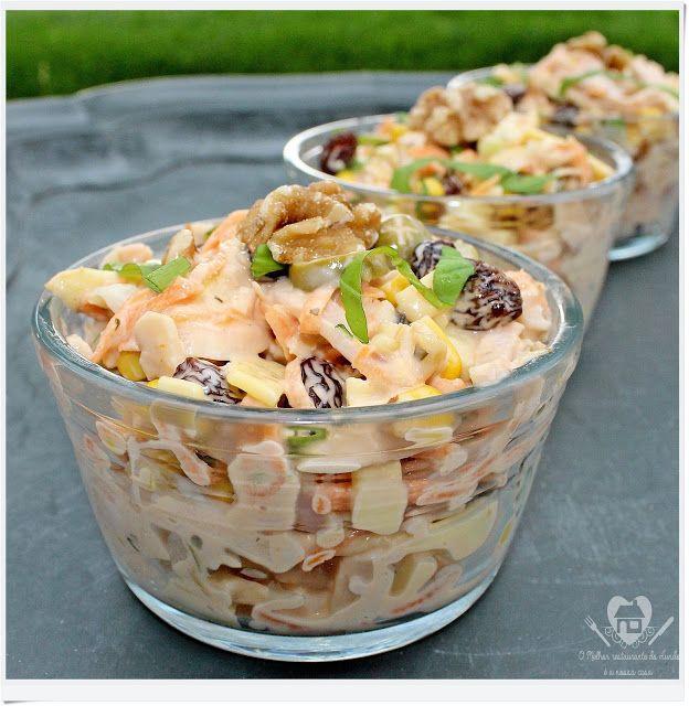Receita f cil e r pida de salpic o para festa saladas for Comida francesa en lima