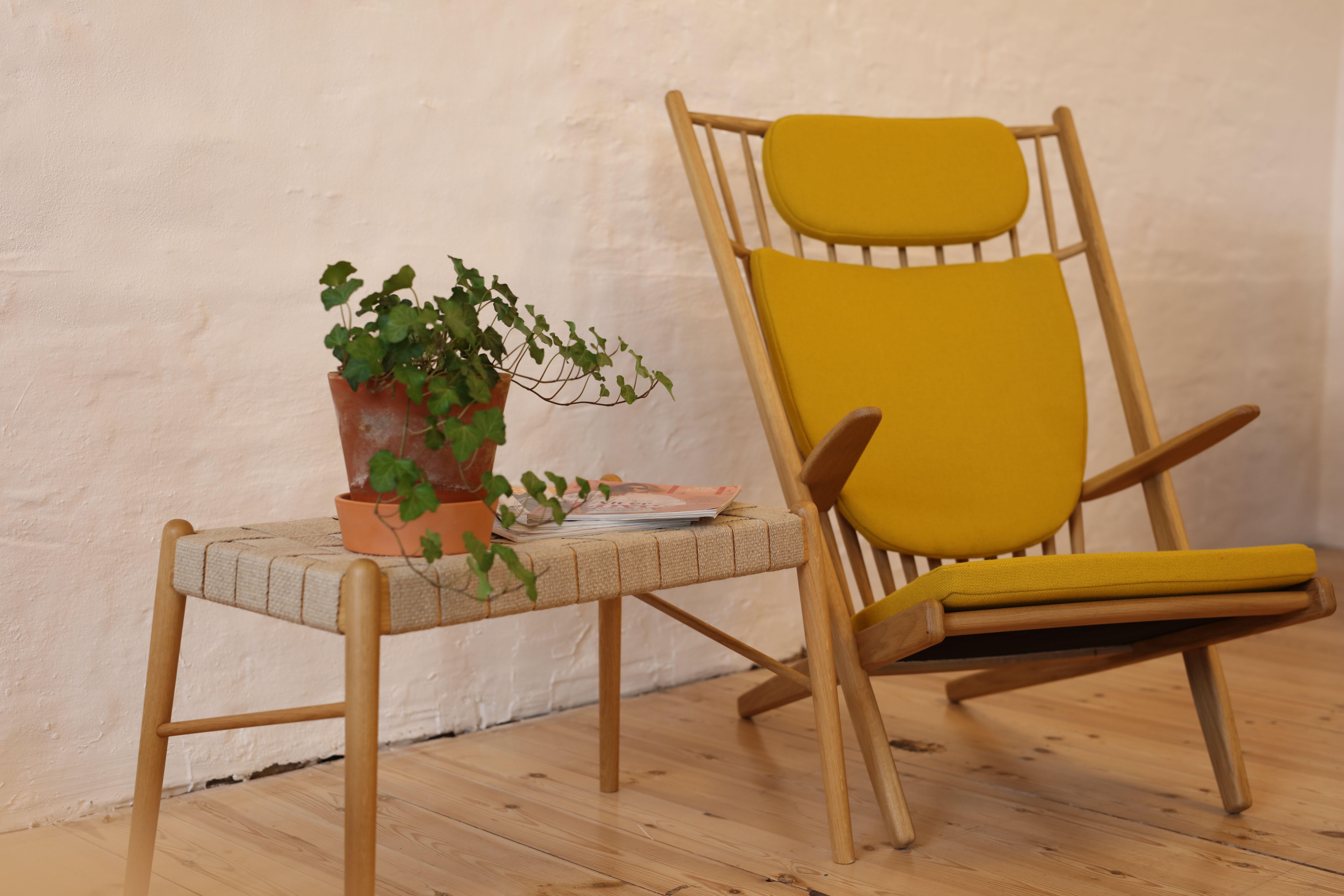GOLIAT design lænestol i bæredygtigt egetræ | Stol design