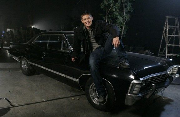 Sam And Dean Winchester Do Supernaturals Season 8 In India Impala Jensen Ackles Chevy Impala