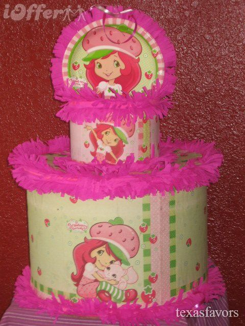 Image detail for -Strawberry Shortcake Birthday Party Pinata Favor Game for  sale