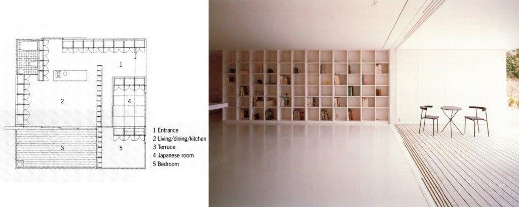 Awesome Furniture House By Shigeru Ban