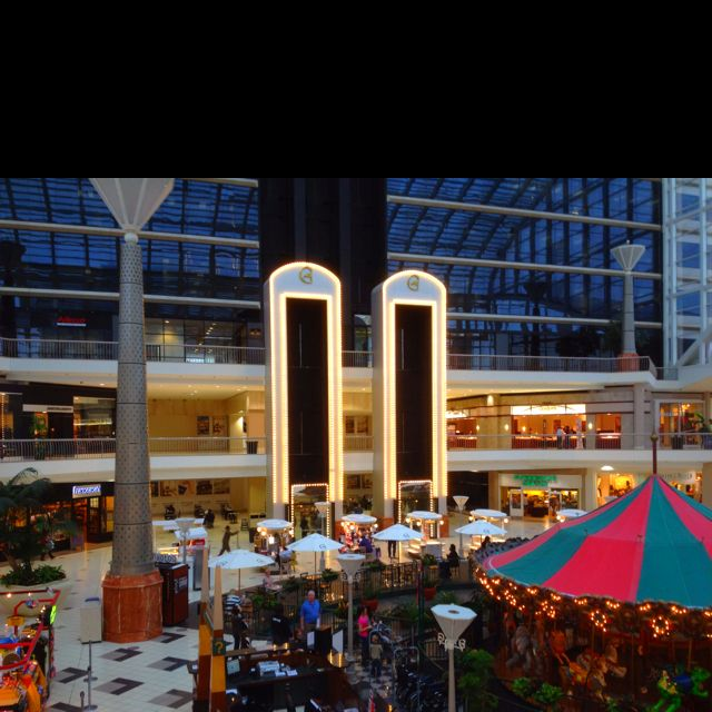 The Place At Galleria Birmingham Al: Open Court At Riverchase Galleria Mall In Birmingham