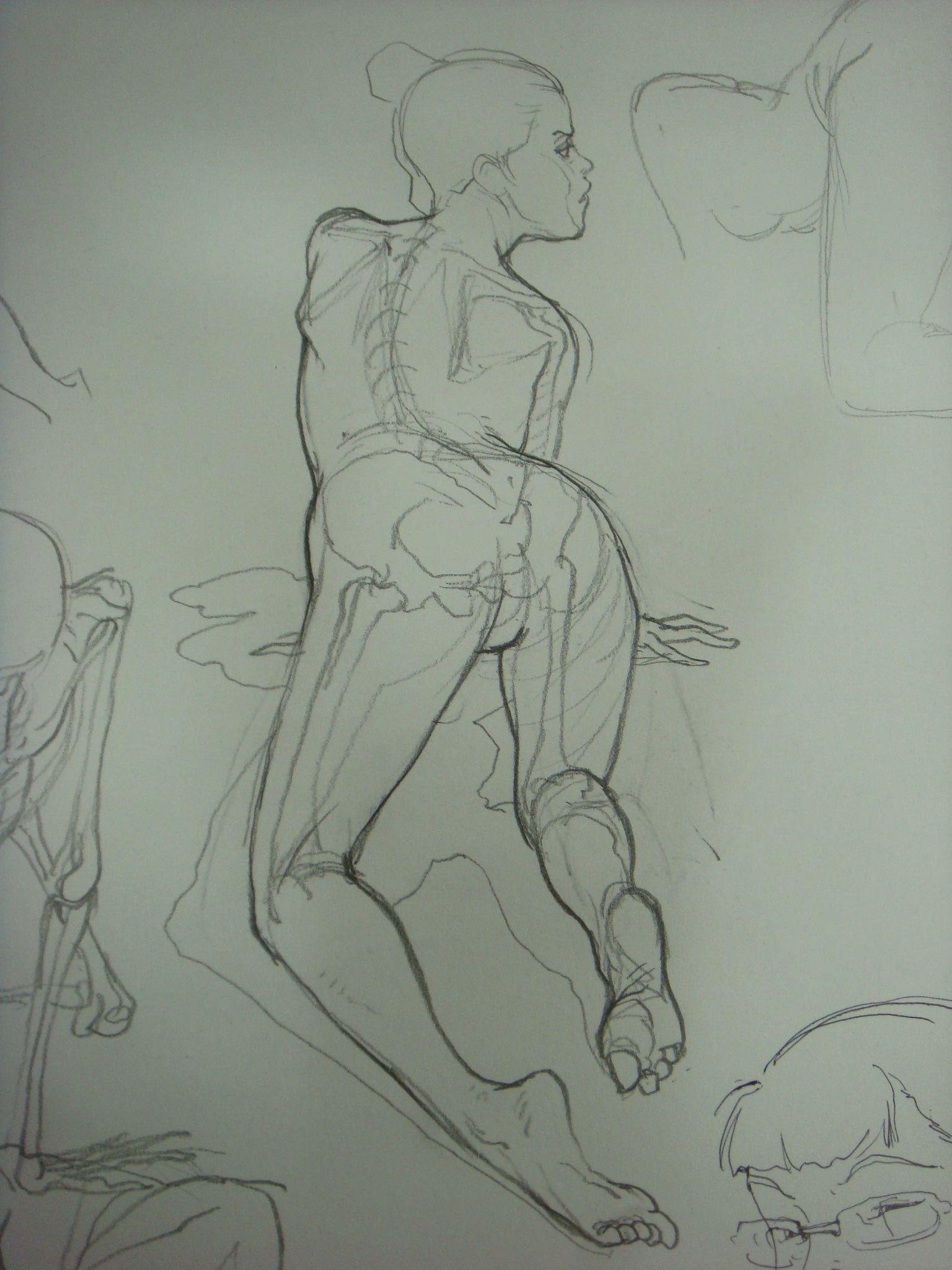Intro to figure drawing & anatomy - Kim Jung Gi   фигуры   Pinterest ...