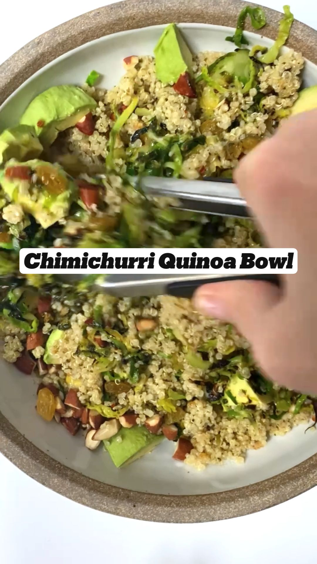 Chimichurri Quinoa Bowl