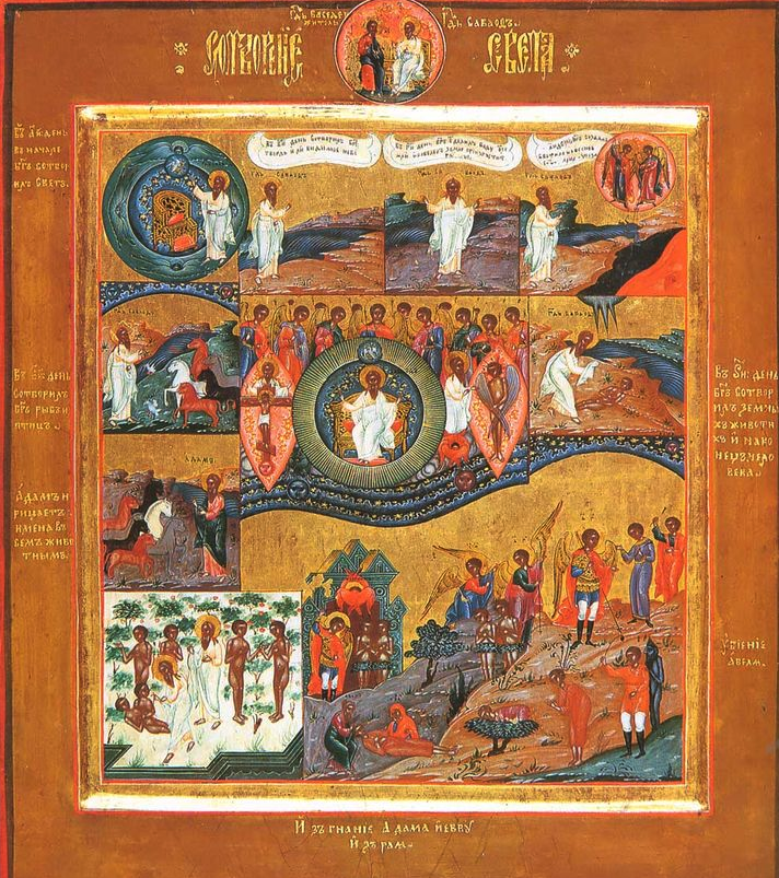 Western Russian theology has unfortunately been contaminated during all an era (XVII-XVIII c.) by the influence of Ukraine and Poland Catholic proselytism (see Pierre Moghila). Uniatism produced these icons, aesthetically beautiful, but terribly wrong for Orthodox theology  and dangerous to spiritual health