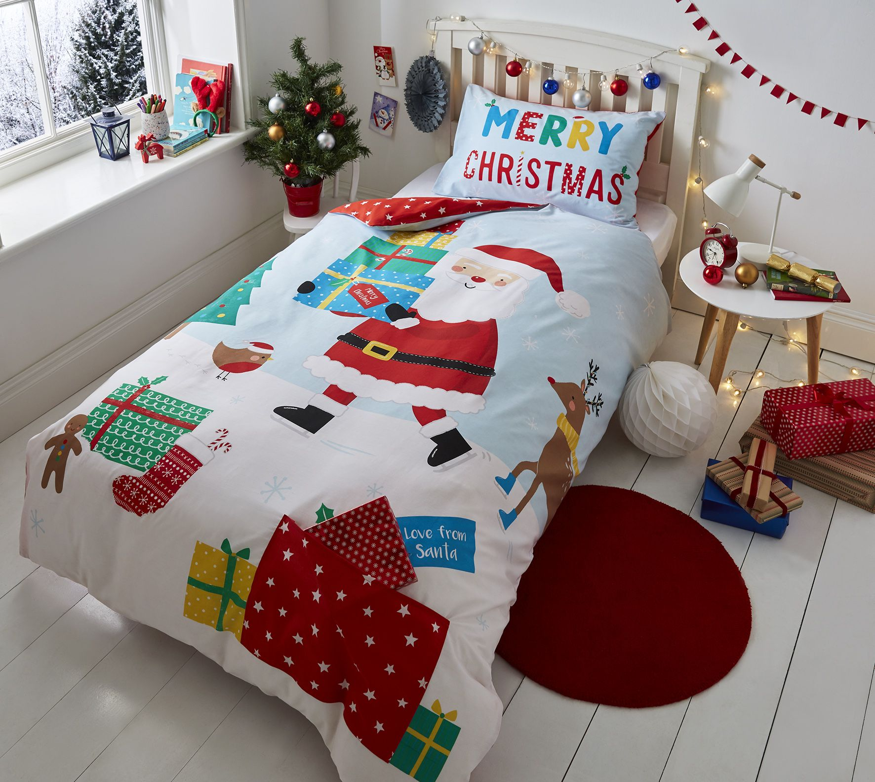 Catherine Lansfield Christmas Bedding Catherine Lansfield Love From Santa Bedding Catherinelansfield