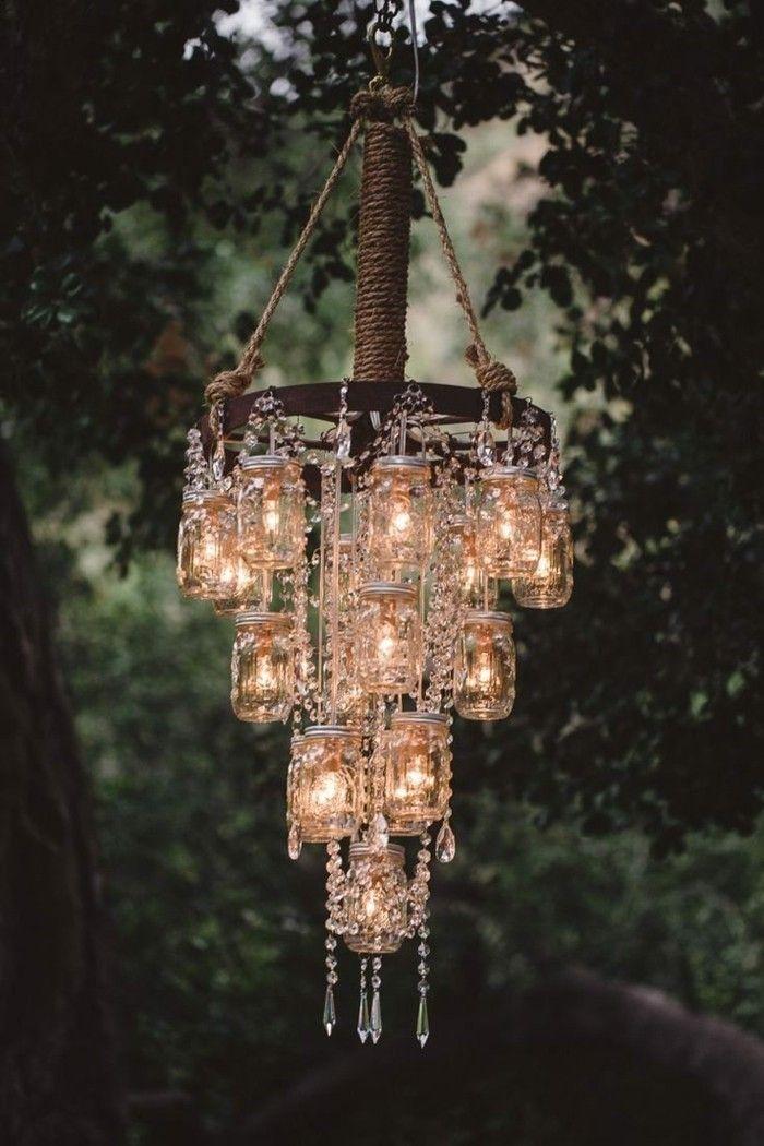 Gartendeko selbstgemacht - 53 Ideen für Leuchter und andere ...