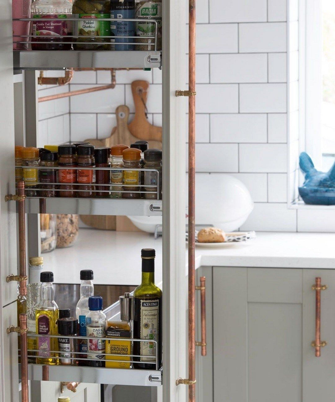 29 creative hidden kitchen storage solutions (16) | small kitchen storage, small space kitchen