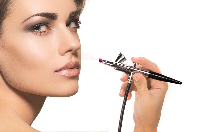 5 Tips for Airbrush Makeup at Home with Luminess - Haute ... |Makeup Tips For Airbrush
