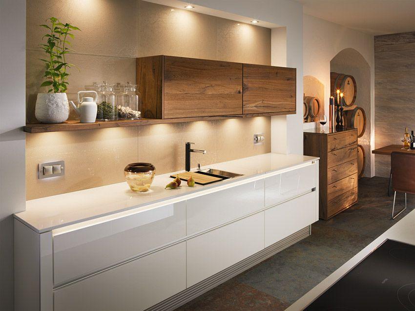 Breitschopf macht ihre Küche → Barrique Alteiche - häcker küchen ausstellung