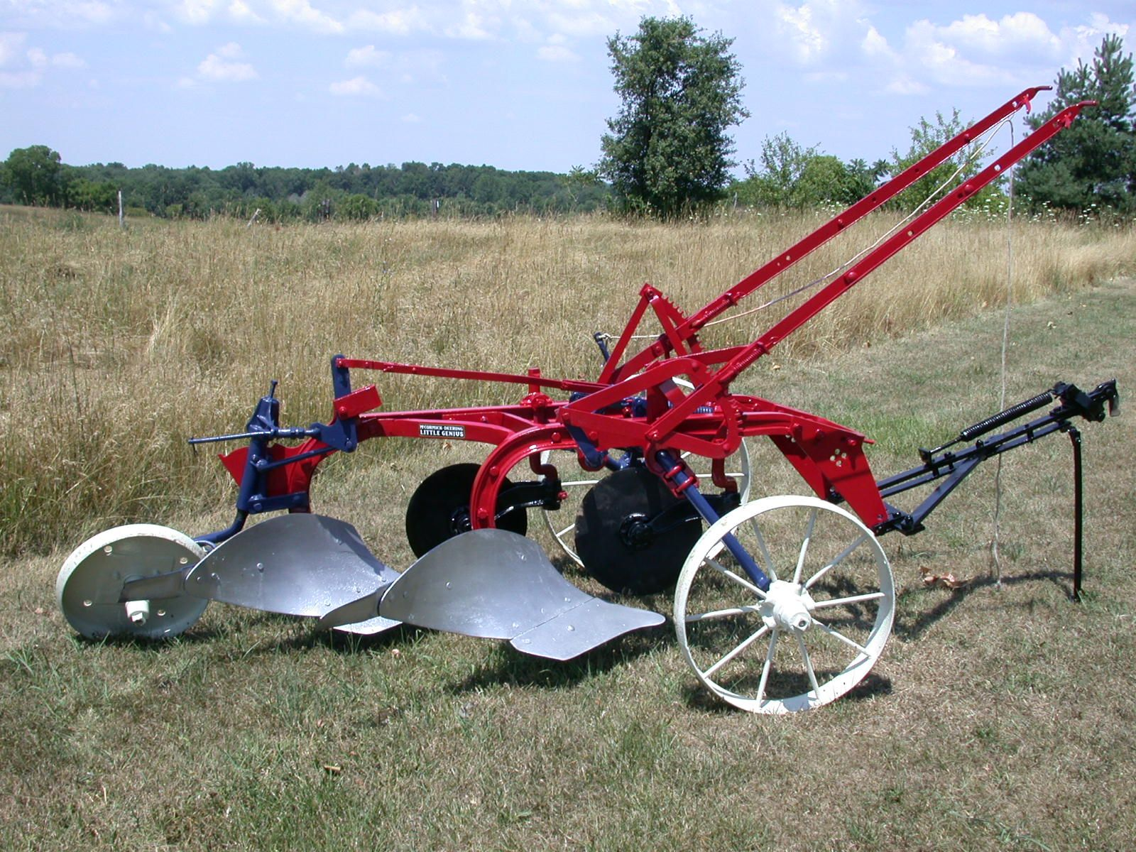 I H 2 Bottom Plow Vintage Farm Farmall Tractors Farmall