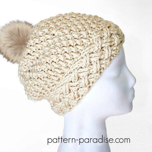 Crochet Pattern: Arctic Snow Hat | Pinterest | Gorros