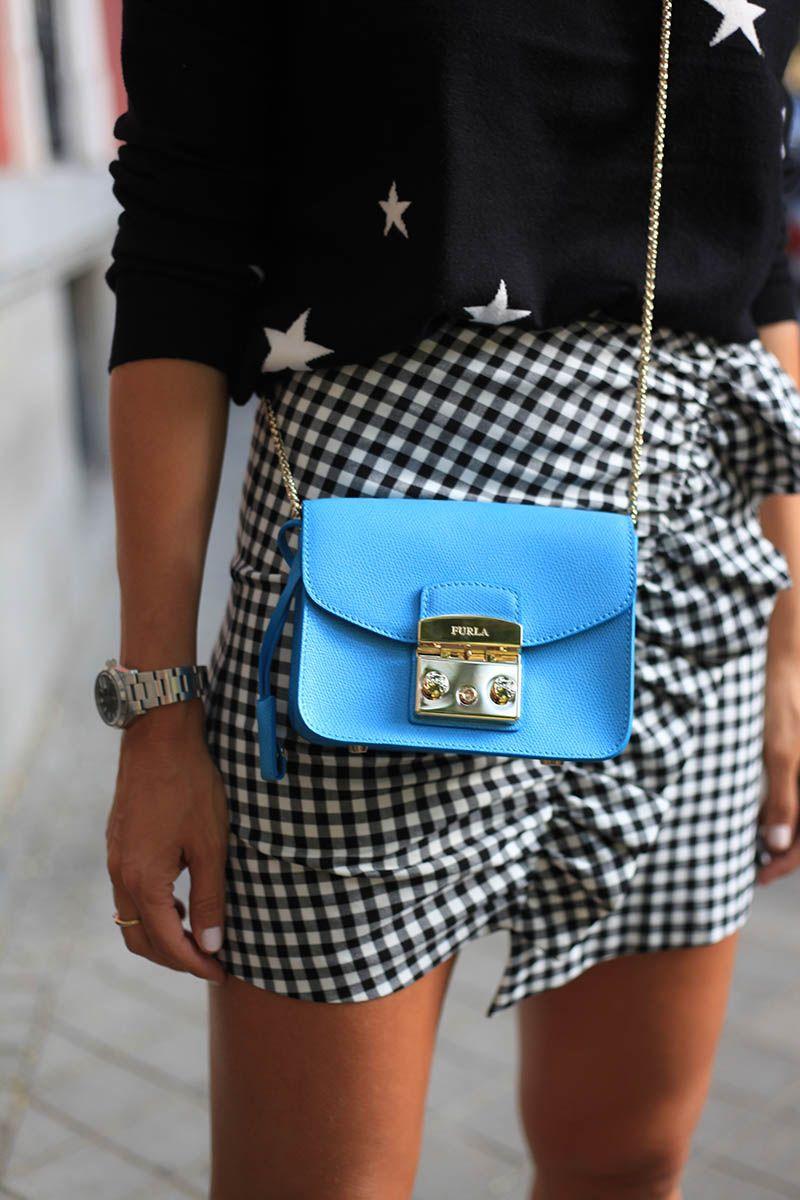 mini furla turquesa ladyaddict look fashion week 1.  mini furla turquesa ladyaddict look fashion week 1 e55c671f200
