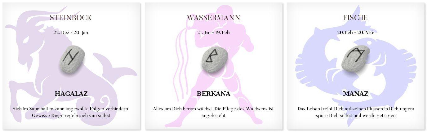 Runen Tageshoroskop 5.5.2017 #Sternzeichen #Runen #Horoskope #steinbock #wassermann #fisch