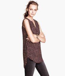 Chiffon blouse H&M