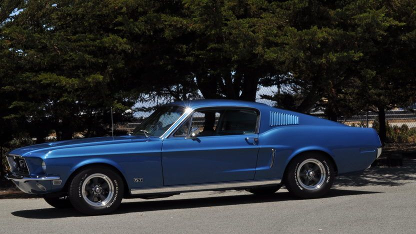 1968 Ford Mustang Gt Fastback 390 320 Hp 4 Speed