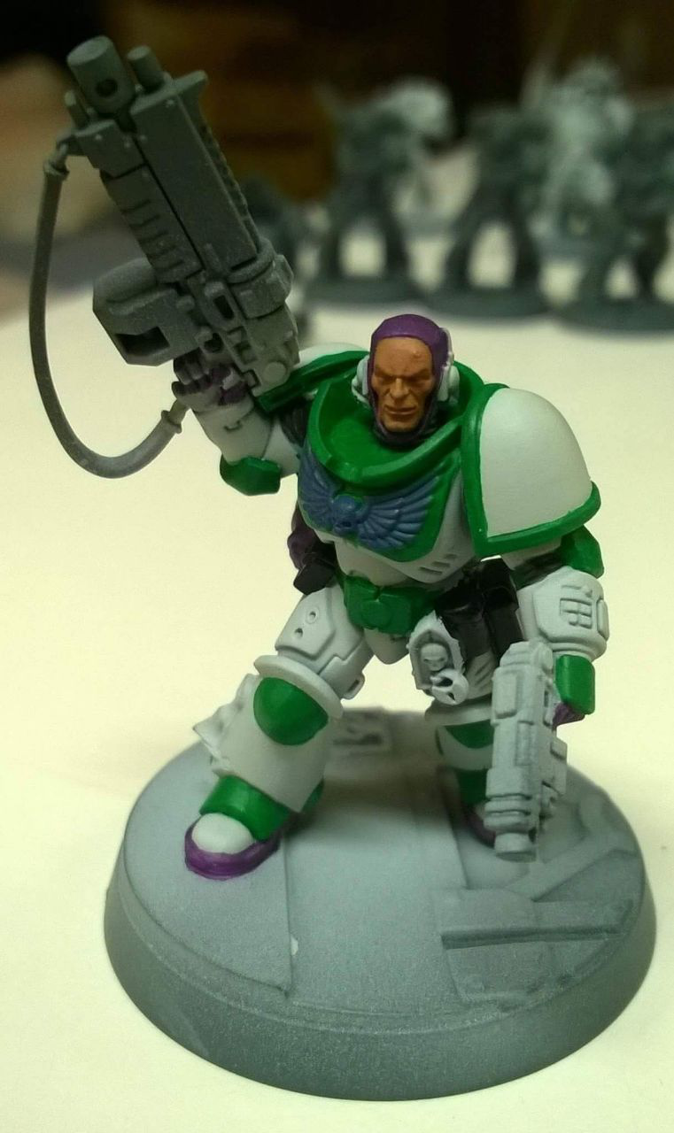 Buzz Lightyear as a Space Marine [Warhammer 40K] via /r