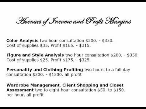 Image Consultant Image Consultant Salary by Gloria Starr