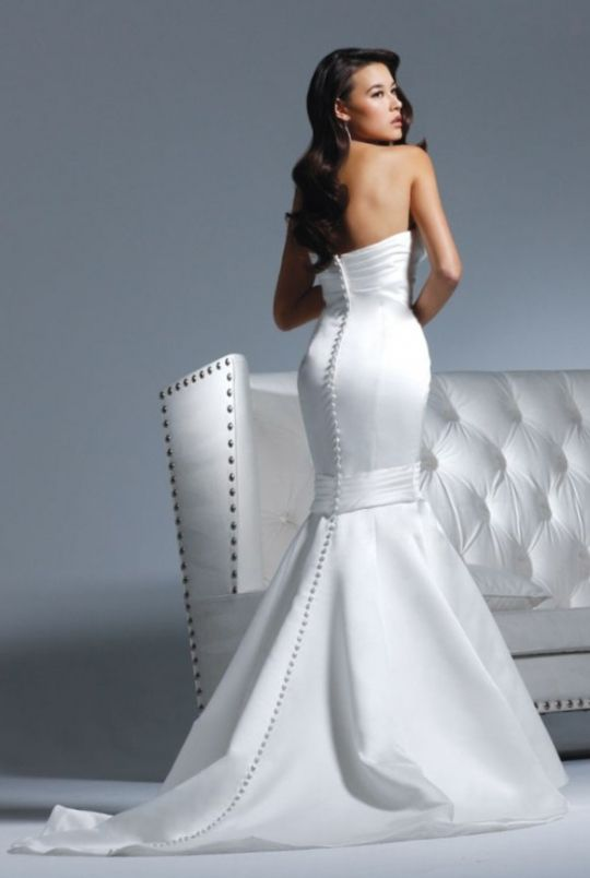 White wedding reception dress for bride shop clothing shoes online