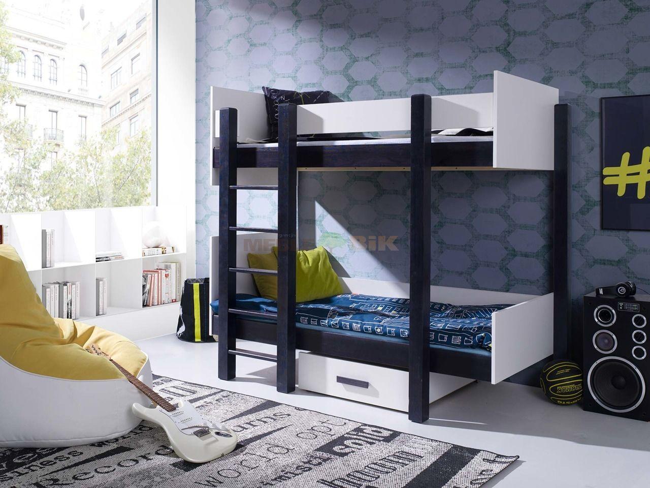 łóżko Piętrowe Nestor 2 Osobowe Do Pokoju Młodzieżowego
