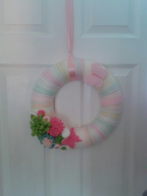 Summer wreath, made by me!