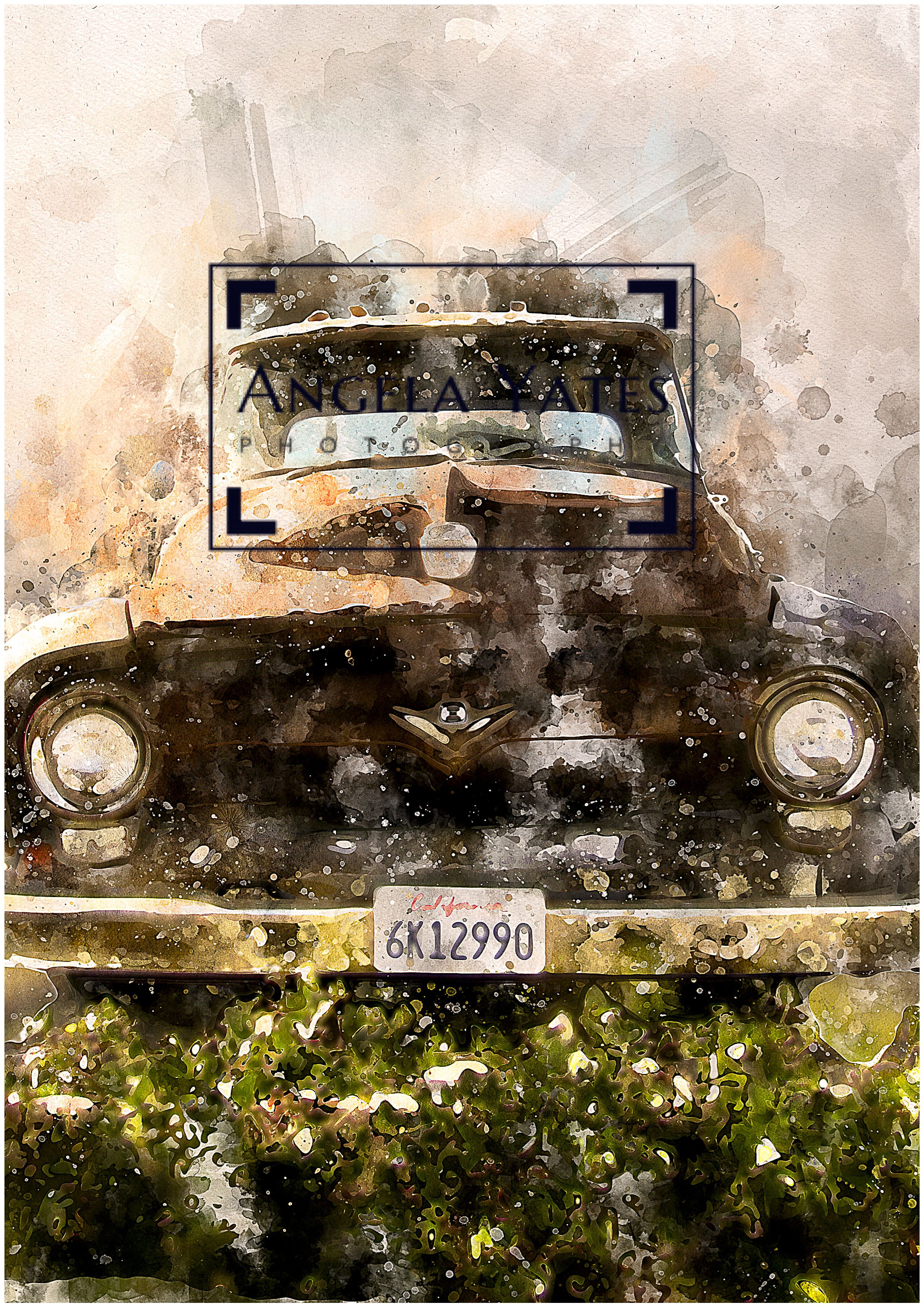 Automobile in LA. This beautiful artwork is an example of the pieces ...