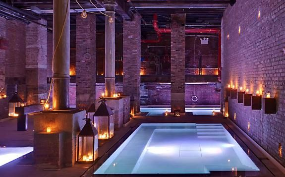Underground Roman Baths - Aire, NYC  | Things I want to