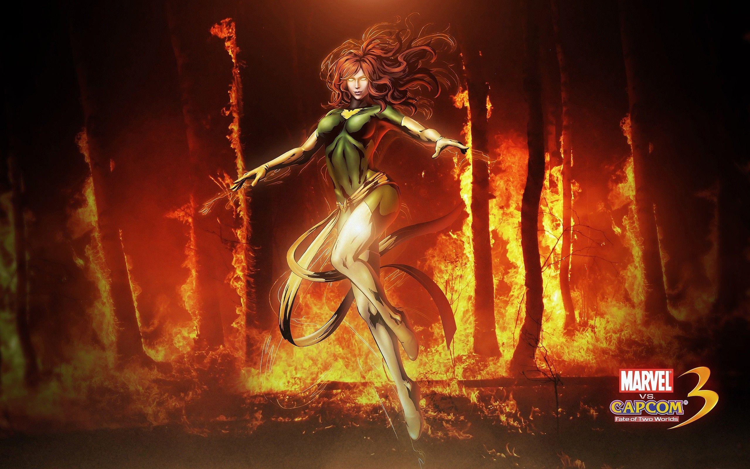 General 2560x1600 Marvel Vs Capcom 3 Jean Grey X Men Phoenix