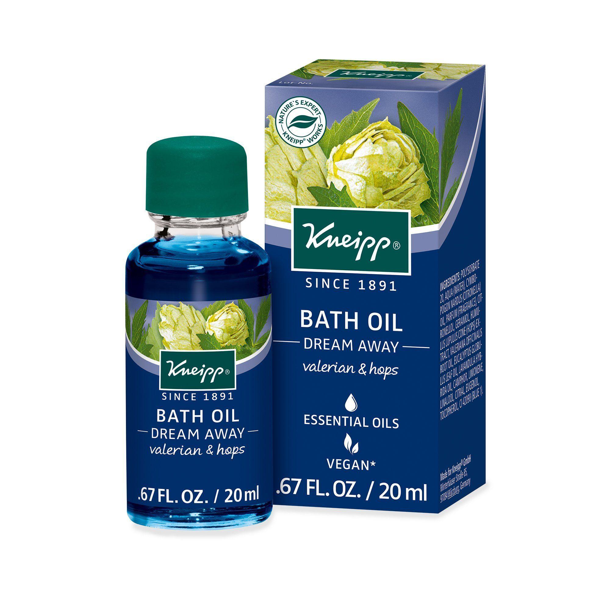 Kneipp Dream Away Bath Oil Herbal Bath Essential Oil Plants Herbalism