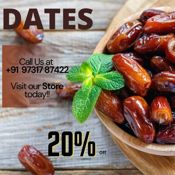 Dates are Highly Nutritious!! For best discounted prize, Call us at 9731787422 . . . #fruit #cleaneating #diet #healthysnack #snack #fruits #healthyeating #glutenfree #buahkering #apricots #gift #fitness #dates #dryfruits #almonds #naturanuts