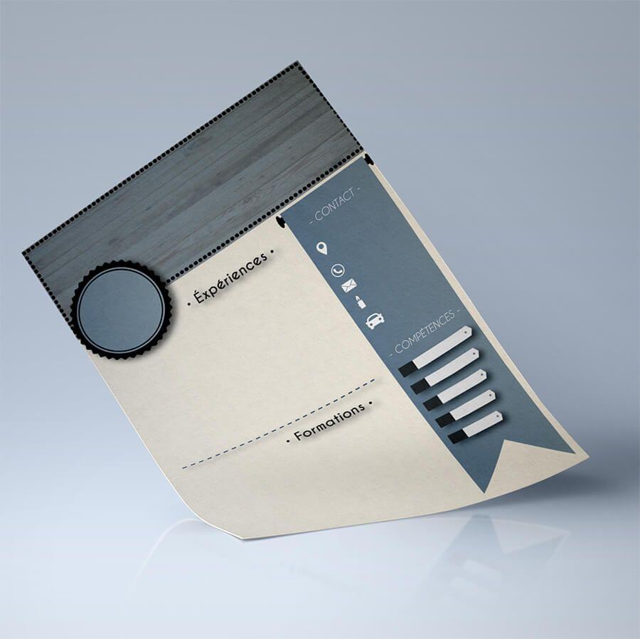 design   cr u00e9er un cv en ligne au format pdf  u00e0 t u00e9l u00e9charger