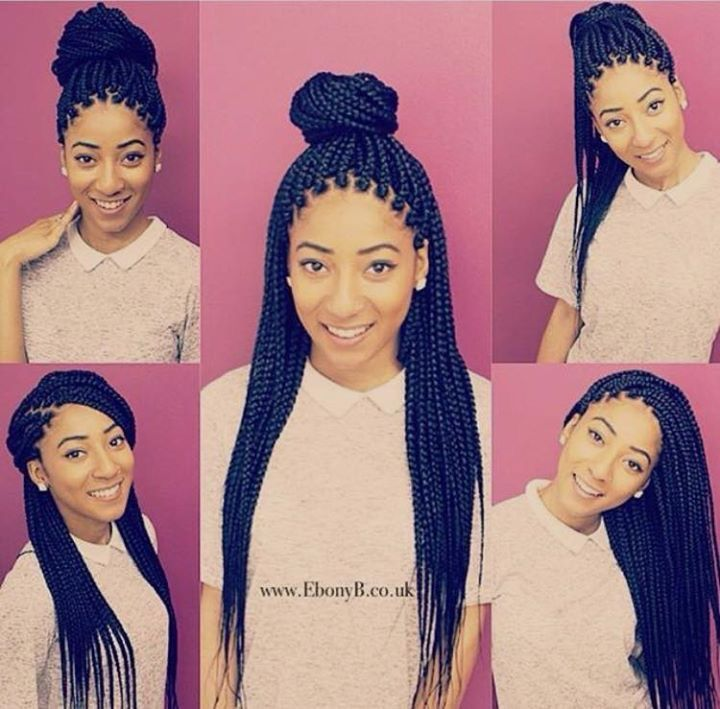 different ways to style hair different ways to style box braids looking for hair 7529