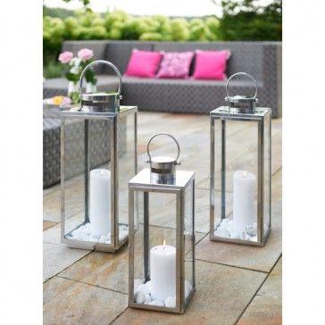 laterne windlicht flach 50 cm zum shop. Black Bedroom Furniture Sets. Home Design Ideas