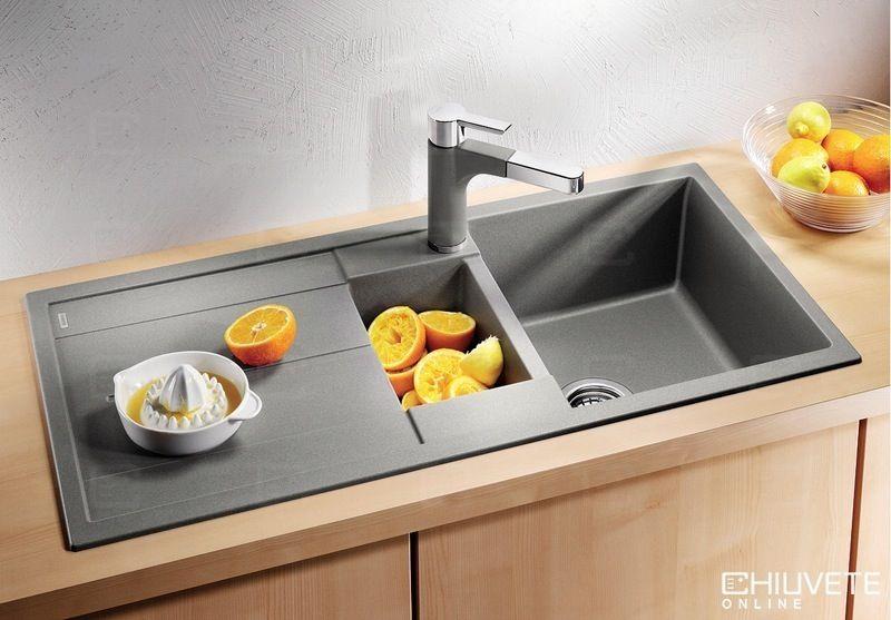 Chiuveta Silgranit Blancometra 6 S Chiuvete Granit Pinterest - spülbecken küche granit