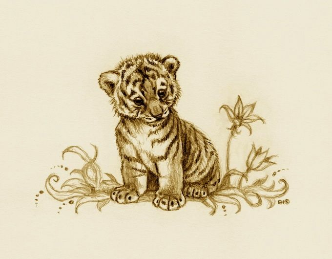 tiger cub 2 by esthervanhulsen on deviantart tattoo ideas pinterest tiger cub tigers and. Black Bedroom Furniture Sets. Home Design Ideas