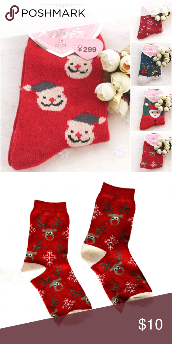 Christmas new year winter socks great gift fun socks hosiery and christmas new year winter socks great gift solutioingenieria Images