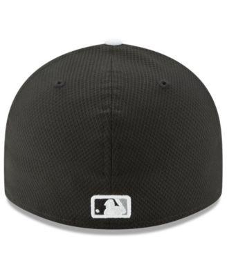 06e23d855 New Era Chicago White Sox Diamond Era Spring Training Low Profile 59FIFTY  Fitted Cap - Black 7 1/8